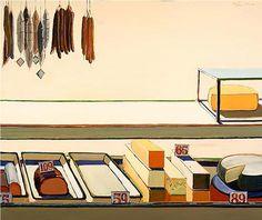 Wayne Thiebaud, Delicatessen Counter, 1963