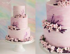 Watercolour Wedding Cake | Charlotte | Flickr
