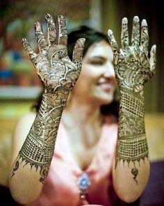 Bridal 2013 New Mehndi Designs