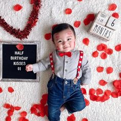 Monthly Baby Photos, Baby Monthly Milestones, Milestone Pictures, Baby Pictures, Baby Boy Photography, Photography Props, Picture Ideas, Photo Ideas, Six Month Baby
