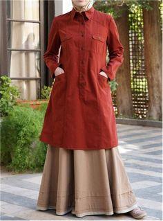 Rayan Top via www.shukr.co.uk #shukr #tunic #Islam #fashion #modest