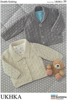 Ravelry: Cardigans in Double Knitting pattern by UK Hand Knitting Association