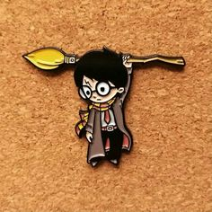 Harry Potter Quidditch pin.