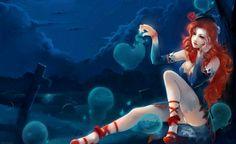 Free images about Fantasy Girl - MobDecor Anime Fantasy, Fantasy Girl, Dark Fantasy, Fete Halloween, Anime Halloween, Hd Anime Wallpapers, Desktop Backgrounds, Wallpaper Desktop, Multimedia Artist
