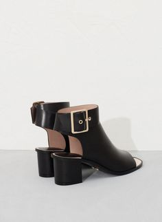 Buckled strap bootie - See all - FOOTWEAR - Uterqüe United Kingdom