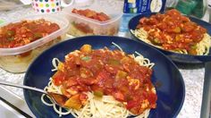 Cheap Meals: Spaghetti with sausage and vegetables