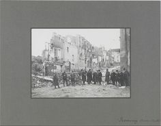Communes incendiées ou détruites par fait de guerre fin août-début septembre…