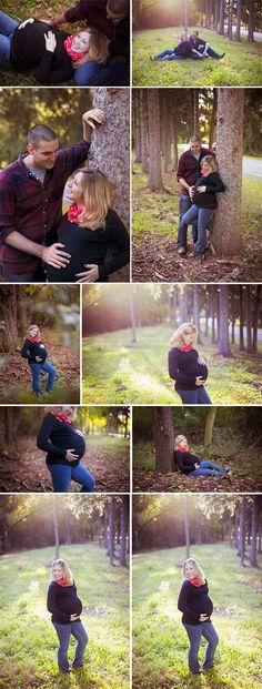 Fall outdoor maternity session
