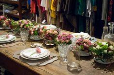 Flowers by Jardin Divers www.jardindivers.it @jardindivers  Flower Workshop at Boutique Nadine, Florence