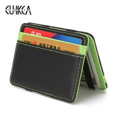 Unisex PREMIUM QUALITY Leather RFID PROTECTED Abito Portafoglio Carta di Credito Scatola Regalo