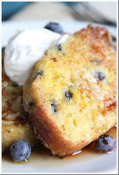 Blueberry Muffin French Toast | Doughmesstic