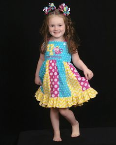 Baby Girl Dresses, Girl Outfits, Baby Girls, Peppa Pig Dress, Pig Party, Turtle Party, Boutique Dresses, Pig Birthday, Kids Fashion