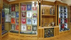 The 18-year professional career of a serial champion has yielded one of the finest football museums on the planet. #SoccerSwag #SoccerLife