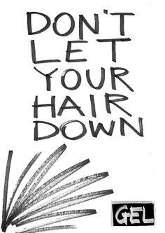 One Minute Brief: Advertise Hair Gel