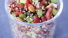 salade de quinoa aux fraises