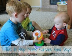 7 Tips to Help Moms Survive Hard Days. Today was one of those days