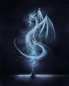 Dragon de humo