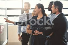 They're business pioneers royalty-free stock photo