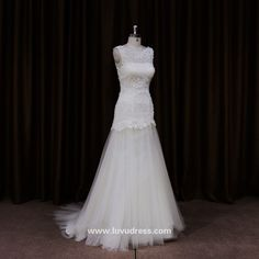 Real sample new model 2016 crystal beaded guipure lace ladies new wedding dress