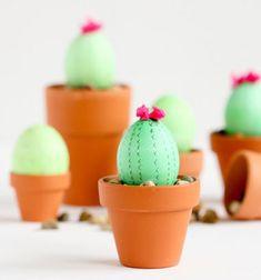 ❤ Kaktusz húsvéti tojások cserépben - kreatív tojásfestés ❤Mindy -  kreatív ötletek és dekorációk minden napra