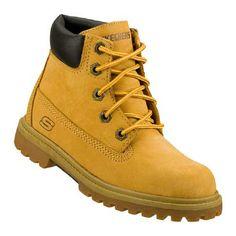 Skechers Lumberjack Pre/Grd Boots (Wheat) - Kids' Boots - 11.5 M