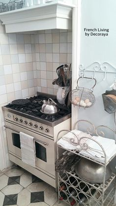 The cooking area.