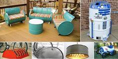 50 Κατασκευές φτιάξτο μόνος σου με μεταλλικά βαρέλια! | Φτιάξτο μόνος σου - Κατασκευές DIY - Do it yourself