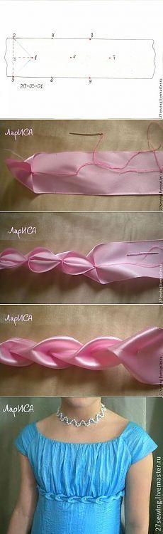 Bordado em Fita - / Embroidery in Ribbon -