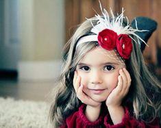 Dulce bailarina flor plata venda bebé niña por OhhSoSweetBowtique