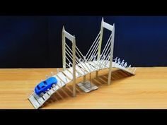 Popsicle Stick Bridge Arts and Crafts Exactly what are 'arts & crafts'? Commonly, the expression 'arts & crafts' refers to handmade goods which were develo Popsicle Stick Bridges, Popsicle Stick Crafts House, Popsicle Sticks, Craft Stick Crafts, Craft Ideas, Popsicle Bridge, Woodworking Guide, Custom Woodworking, Woodworking Projects Plans