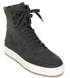 kris-van-assche-nubuck-high-top-sneakers-1