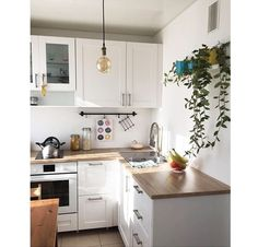 new home decoration ideas Rustic Apartment, Apartment Kitchen, Home Decor Kitchen, Apartment Design, Kitchen Interior, New Kitchen, Home Kitchens, Home And Deco, Küchen Design