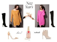 """""""Look 39 - Casual Chic New Years"""" by fewmodapolyvore on Polyvore featuring Kate Spade, Aquazzura, Gianvito Rossi and Sergio Rossi"""