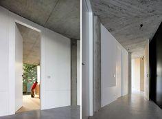 Het 'Huis BM' door het Belgische architecten bureau De Vylder Vinck Taillieu bevind zich in een bosstuk rond Gent. Deze woning verbindt zich met de omringende natuur in elk van haar facetten. Men t...