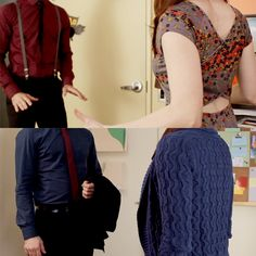 The Lizzie Bennet Diaries.  What a difference 18 episodes make already. -- I just realised they're colour-coordinated. LOL