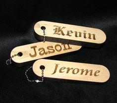 Llaveros madera personalizados