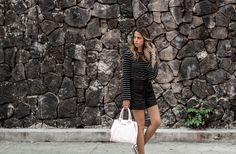#FashionBySIMAN & Our Favorite Style: Un short a la cintura luce perfecto usándolo con sweaters manga larga que agrega estilo y te hace lucir fashion.