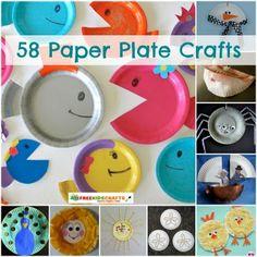 58 Paper Plate Crafts | AllFreeKidsCrafts.com