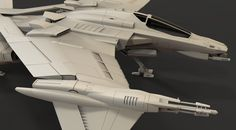 Wings Up Thread the Needle Sideview - Comparison Front Star Tiger Title: Thrust Challenge - Myrmidon Fighter (3D) - Landon L. Name: ephalanx Software: Maya Keyshot Submitted: 20th July 2016 Here is my entry for the Thrust Challenge - Best Fighter Ship Category...