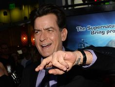"""""""Charlie Sheen denies allegations that he pulled a knife on his dentist"""" http://www.examiner.com/article/charlie-sheen-denes-allegations-that-he-pulled-a-knife-on-his-dentist"""