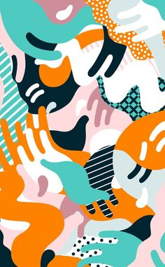 Illustration for The Skinny Magazine's clubbing and events section, view it online here. The second image was an unused idea. Illustration Inspiration, Illustration Art Nouveau, Magazine Illustration, Pattern Illustration, Surface Pattern Design, Pattern Art, Abstract Pattern, Abstract Art, Vector Pattern
