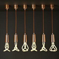 Plumen Drop Cap hanglamp-Koper
