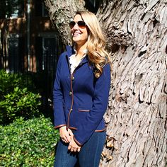 Hunt Jacket in Navy by Sail to Sable #$100-to-$200
