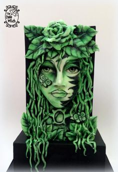 Acts of Green - 50 Shades of Green by Nessie - The Cake Witch