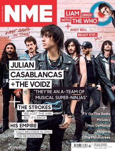 Julian Casablancas + The Voidz (photo by Abby Ross) YOUNG DAD (Amir Yaghmai on the left)