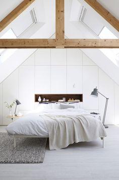 Bedrooms | Stairs, Skylights Ceiling Beams