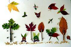 Herbstlich gefärbte Blätter sind tolle und vielseitig einsetzbare Bastelmaterialien. Aus ihnen können Sie in Kombination mit Ästen, Beeren und Muscheln ganze Wälder zaubern. Herbstlicher kann eine selbstgebastelte Deko kaum sein. Foto: Wunderbare Enkel