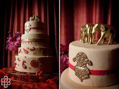 elephants as cake toppers