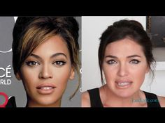 Look like #Beyonce #Makeup Tutorial: Cover of #Vogue 2013. @mad4clips