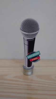 Tubetes Personalizado microfone